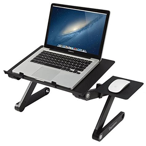 laptop computer desk readaeer portable adjustable laptop computer desk stand