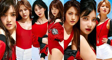 boys apinkasia k pop group aoa heat up the beach with their sexy new