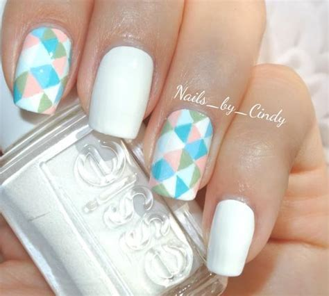 Basic Nail Design by Better Than Basic White Nail Designs More