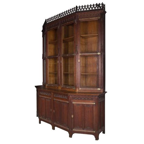 library bookshelves for sale revival library bookcase for sale at 1stdibs