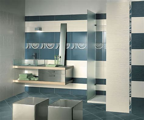Fun And Creative Bathroom Tile Designs Decozilla Modern Bathroom Tiling Ideas