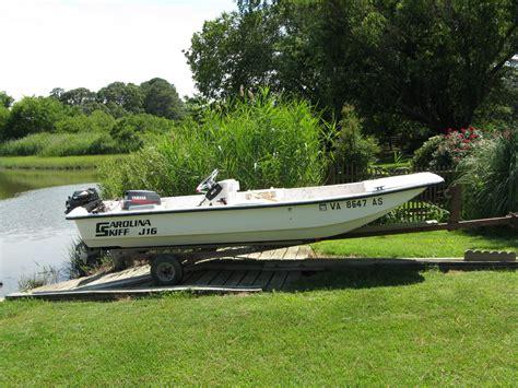 skiff j16 carolina skiff j16 1998 for sale for 3 160 boats from