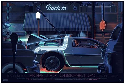Laurent durieux back to the future part trilogy addicted2print