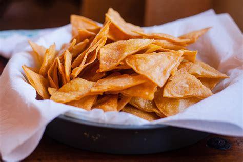 Handmade Chips - tortilla chips cooks