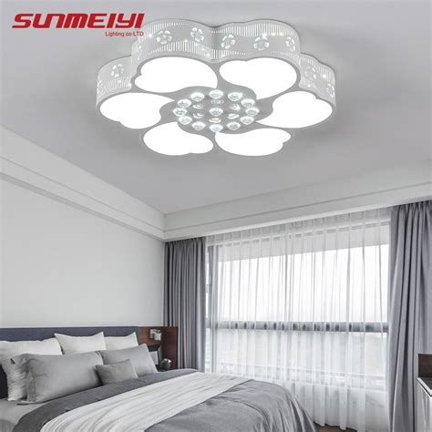 Lu Led Ceiling aliexpress buy flowers modern led ceiling l for living room luminarias acrylic