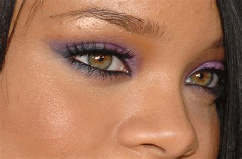 rihanna eye color rihanna s real eye color green brown or