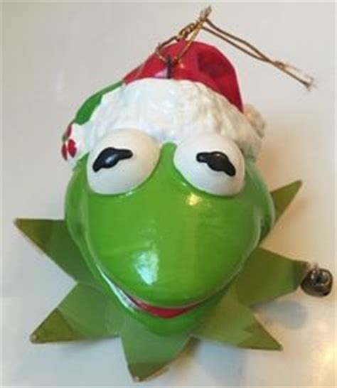 kermit frog christmas ornament 1979 department 56 m m s ceramic dish ebay ebay stuff for sale