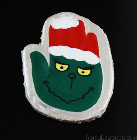 the grinch hand print keepsake ornament from abcs to acts