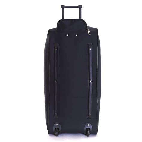 extra large xl wheeled travel luggage trolley holdall