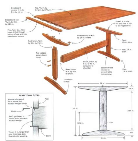 16 best furniture trestle base images on woodworking dining rooms and carpentry