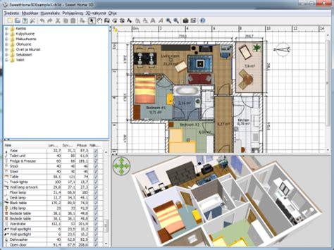 homestyler vs sweet home 3d kodin suunnittelu grafiikka ohjelmat ilmaisohjelmat fi