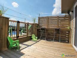 Toit En Verre Maison 2502 mur intimit 233 pool ideas patios and backyard