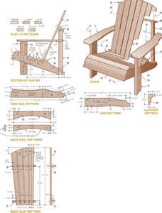 Wooden Lawn Chairs Patterns » Home Design 2017