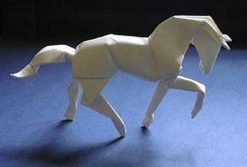 Origami David Brill - more origami horses equine ink