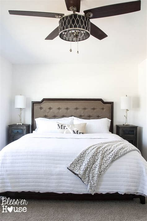 fans for bedroom rustic modern master bedroom reveal and sources bless er house