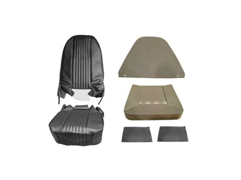 black factory recliner seat cover kit one seat 1