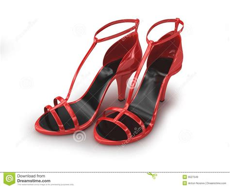 imagenes de sandalias rojas sandalias rojas aisladas en blanco im 225 genes de archivo