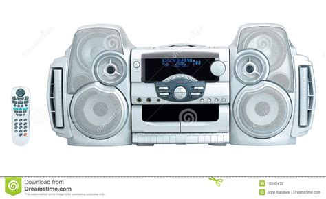 mini home theater isolated stock photography image 19340472