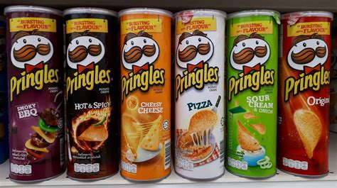 Pringles Bbq 110g pringles potato chips 110g yin choon