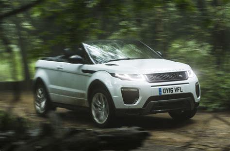 convertible land rover cost range rover evoque convertible review 2018 autocar