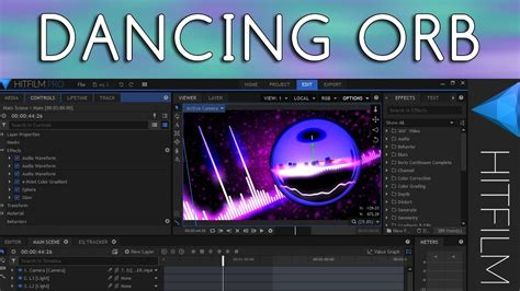 dance tutorial f x electric shock how to make 187 dancing orb fx hitfilm pro tutorial youtube