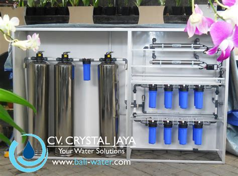 Tabung Water Treatment Complete Water Treatment System For Villa Or Cafe By
