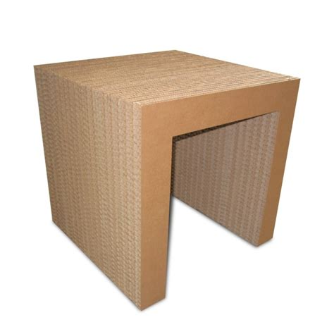 tavolo in cartone tavolo in cartone arc 50 avana