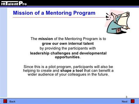 Mentoring Program Plan Template Youth Mentoring Program Template