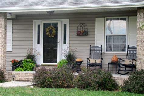 house porch designs fall front porch house of hawthornes