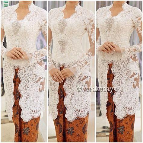 Nagita Slavina White 17 best images about kebaya lace kain batik on