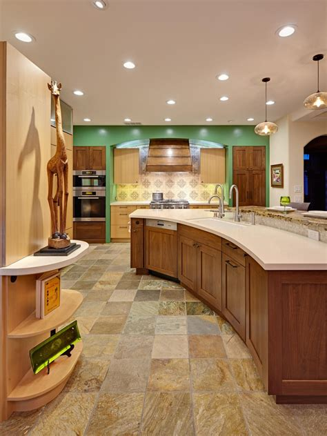 curved kitchen islands photos hgtv