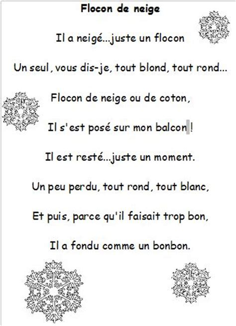 rhyme pattern in french 17 best images about no 235 l pour enfants on pinterest free