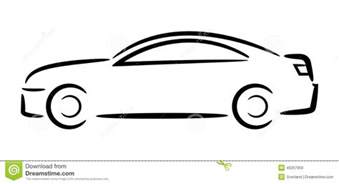 Automobile Outline Clip auto outline clipart