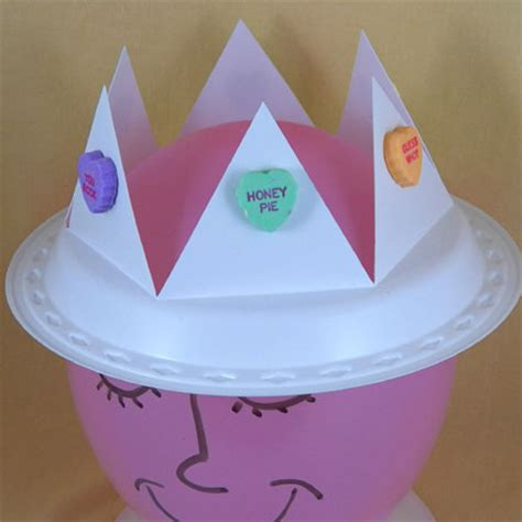 Papercraft Crown - how to make a jar s day crafts