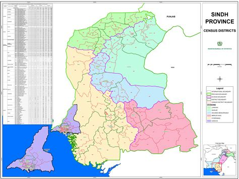 population map gis maps pakistan bureau of statistics 6th population and housing census