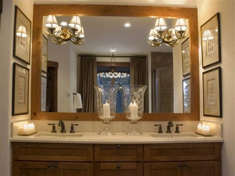master bathroom mirror ideas idea for framing our large mirror bathroom inspiration