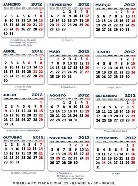 Calendario De 2012 Calendario 2012