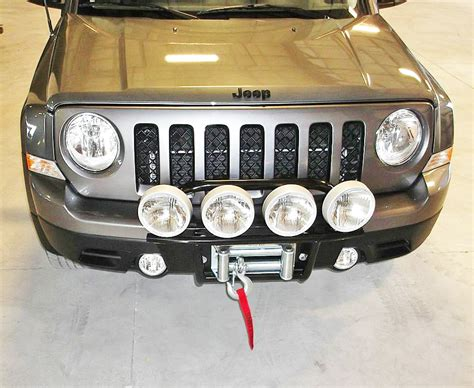 Jeep Patriot Front Bumper Jeep Patriot Bumper Winch Mount And Bumpers For Jeep Patriot