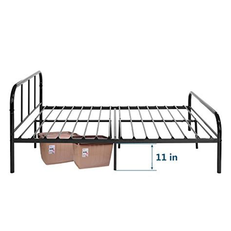 Platform Bed Replacement Slats Greenforest Size Bed Frame With Headboard And Stable Metal Slats