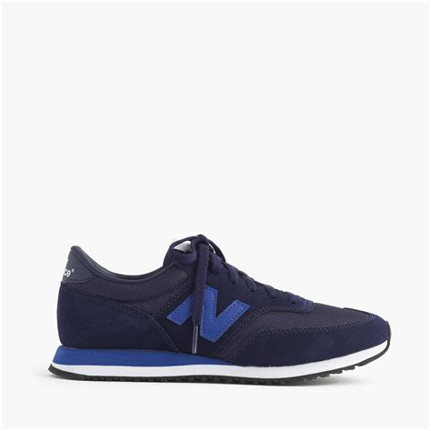 womens navy sneakers j crew s new balance 620 sneakers in blue navy blue