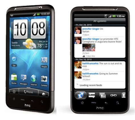 android phones at t htc inspire 4g android smartphone att wireless black condition used cell phones