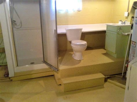 putting a bathroom in your basement installing a bathroom in the basement home desain 2018