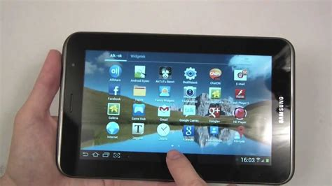 Konektor Samsung Tab 2 samsung galaxy tab 2 7 0 p3100 unboxing and on