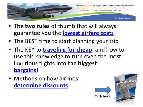 student airline tickets