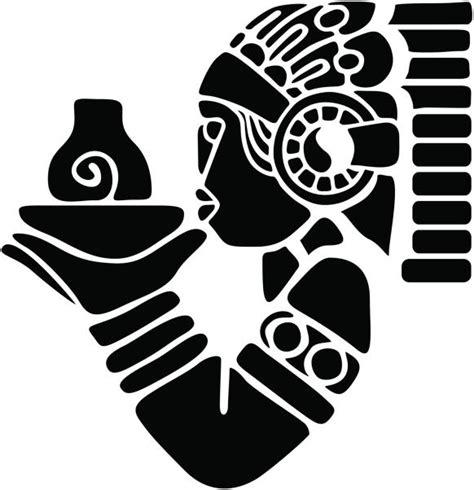 imagenes rostros aztecas dibujos aztecas para tatuajes batanga