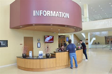 Msc Information Desk Student Center Information Desk