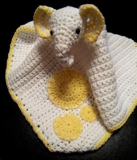 elephant comfort blanket quot grace quot crochet elephant comfort blanket look at what