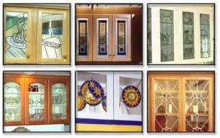 Stained Glass Kitchen Cabinets Stained Glass Decorations Cabinet Doors Stain Glass For