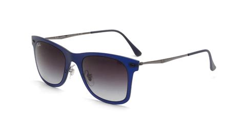 ray ban wayfarer light ray ray ban wayfarer light ray blue matte rb4210 895 8g 50 22