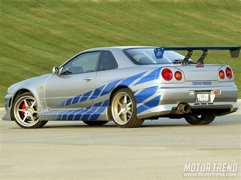 nissan skyline 2 fast 2 furious top 20 cars of quot the fast and the furious quot series motor trend